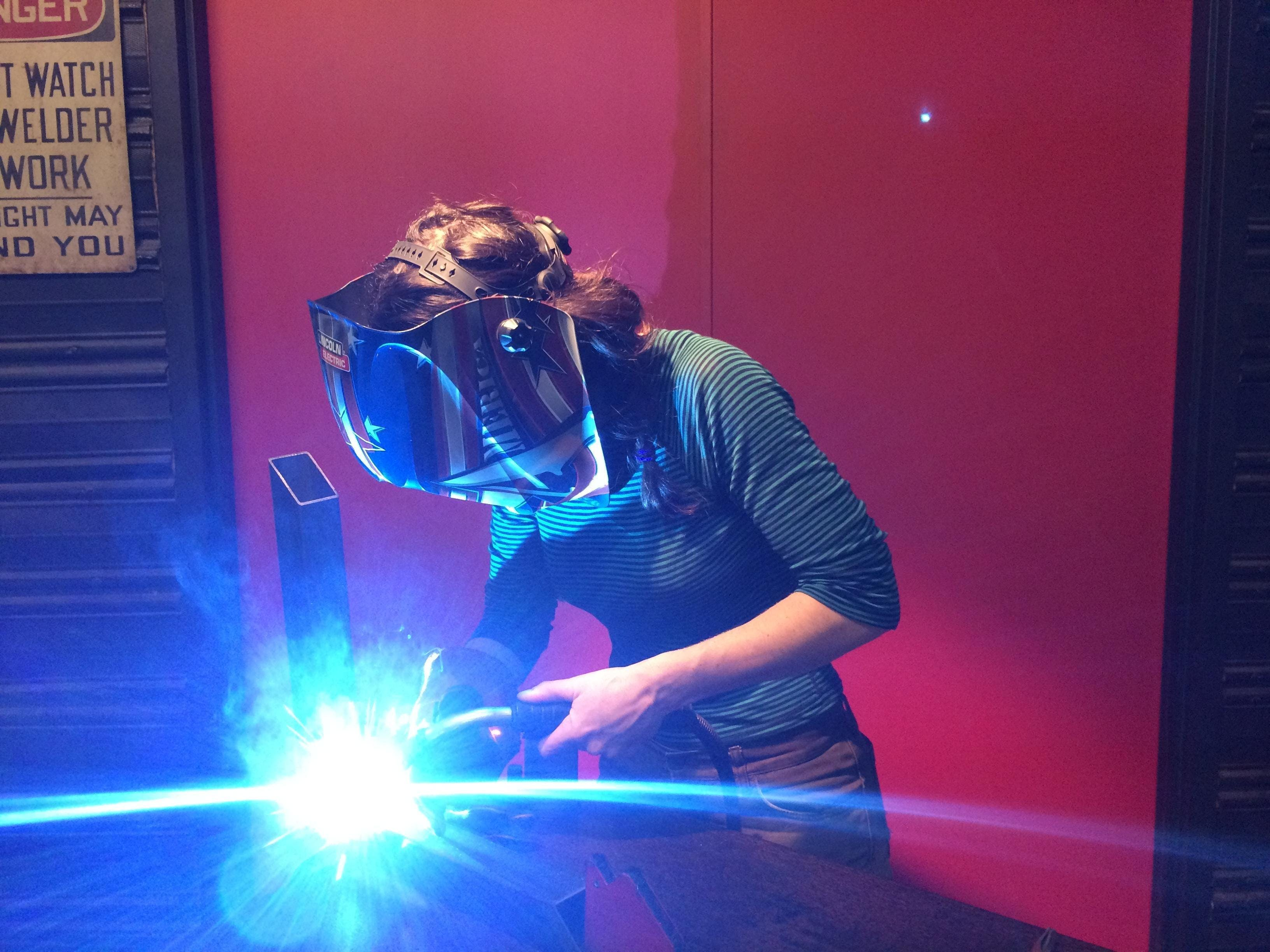 women's welding wednesday workshop 2 | mixxer makerspace